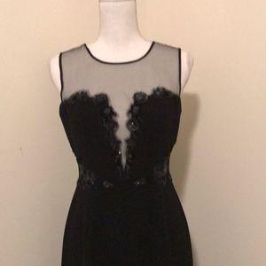 BCBG Black Evening Gown Size 6, Worn Once!